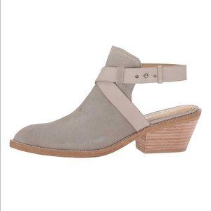 NWOT Splendid Pearl Gray Dasha Suede Mule Boot